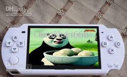 Wholesale - 100% Brand 4GB 4.3 inches MP3 MP4 MP5 RMVB Player Games Camera TV out P20 free of shipping
