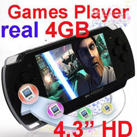 Wholesale quot GB Portable Handheld Video Game Console Player with Camera GAMES