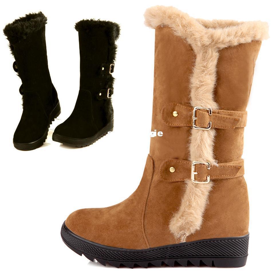 2017 wholesale warm winter boots fur inside australia