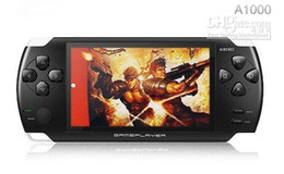 Wholesale - New ! A1000 Game Console 4GB 4.3-inch screen  MP4 MP5  Game Player with Camera and TV-OUT - Free Shi