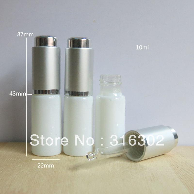 Dhl20010ml White Glass Bottle