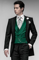 Green and Black Formal Dress