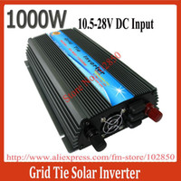 Wholesale MPPT Function W Micro On Grid Tie Solar Inverter Pure Sine Wave Output V AC Input V