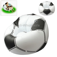Wholesale White Mini Inflatable Football Sofa Size cm inch