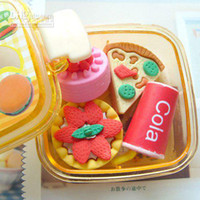 Cheap Wholesale - Free Shipping!! ,Photo Color New novelty products Lovely Cartoon Eraser Kid Gift MINI lovely