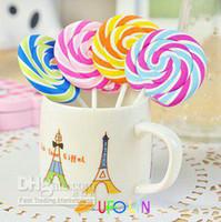 Wholesale New cute Lollipop shape eraser phone eraser gift eraser children gift