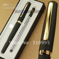 Wholesale Duke gold and black international standard refill roller ball pen