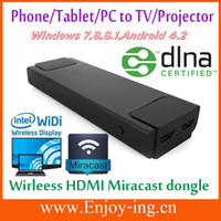 Wholesale Wifi HDMI Wireless display dongle Miracast mirroring WiFi MHL for Samsung GalaxyS3 S4 note2 Phone to TV Wirelessle Drop shipping