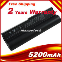 Wholesale 5200mAh Battery for Asus Eee PC E OA001B1000 A22 A22 P701 P22 E PC G EPC G Surf PC Black