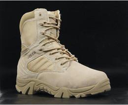Wholesale Delta xue desert boots high help U S military boots war boots