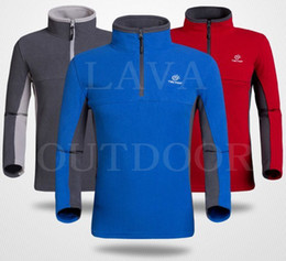 Wholesale Low Price Free Ship Thermal Insulation Breathable WindProof Anti Static Ultra Light Men s Winter Sports Fleece Slip On Jacket