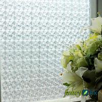 Wholesale Cristal Static Cling Privacy Decorative Window Film S163
