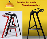 Wholesale 2015 New Aluminum alloy bar chairs bar chairs for fashion bar furniture living room furnitrue outdoor furniture metal chair