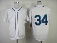 Seattle #34 Felix Hernandez White 2014 Baseball Cool Base Je...
