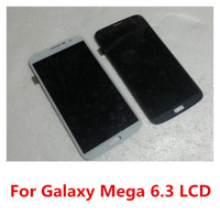 For Samsung LCD Screen Panels MEGA800800100 Front Assembly LCD Display + Touch Screen Digitizer Replacement Part for Samsung Galaxy Mega 6.3 i9200 Free Shipping