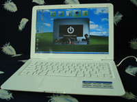 Wholesale 13 LCD Screen Laptop ATOM D2500 Dual Core GHz GB DDR GB Rom Netbook Free DHL Shipping