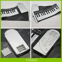 Wholesale 49 Key Button Flexible Roll Up Electronic Keyboard Piano Organ Rolling Piano