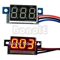 Wholesale Big Discount Mini Red LED Panel Meter Digital Voltmeter Volt Voltage Meter DC V TK0600