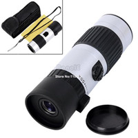 Wholesale 15 x21mm Mini Telescope Adjustable Day Night Monocular Zoom Scope Sports Hunting Concert Spotting Dropshipping