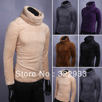 Wholesale Brand UYUK winter thickening BeiJiRong big turtleneck sweater men render han edition cultivate one s morality leisure knit