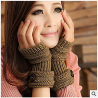 Wholesale Winter Gloves Fashion Woman gloves New Fingerless Gloves Muti Colors