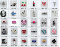 Wholesale 300pcs mixed styles Floating Charm for Floating Charm Locket