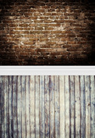 Wholesale Printed photography background fabric cloth brick wall backdrop ft width x ft D