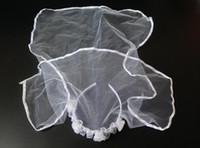 Wholesale 2015 Wedding Dresses Less Than cm High grade Mantilla Princess Veil Children Veil for Wedding Veil Dress or Studio HOT SELL HS001