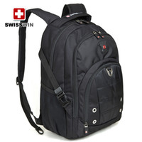 Wholesale SWISSWIN backpack multifunctional Army Knife Men s Travel Backpack inch computer backpack BDD SW9211