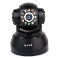 Wholesale Tenvis JPT3815W CCTV Cameras Home Security Camera System Wireless IP Camera Built in Mic Night Vision Motion Monitor Android F1033A