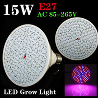 Wholesale New E27 W Red Blue SMD LED Grow Light For Flowering Plant And Hydroponics ZW39