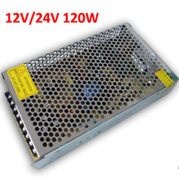 12V 10A 120W Nonwaterproof Metal Switching Power Supply 90-260V AC to 12V Transformer for LED Lighting