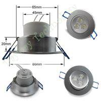 Wholesale W White Light Spotlight Lamp Cabinet AC power LED embedded on the ceiling V
