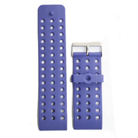 Wholesale mm Sporty Blue Plastic Watch Band Straps WB1024A30PB
