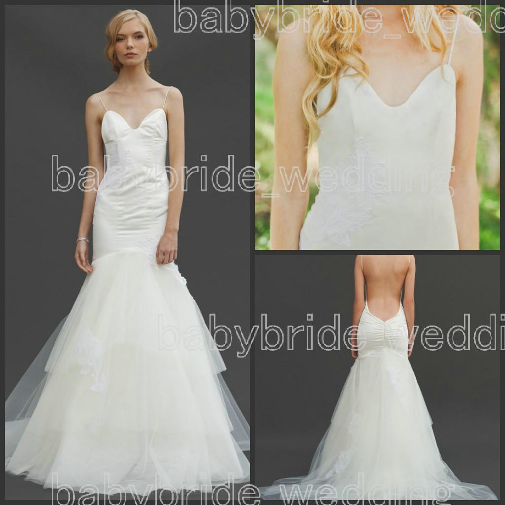 Wedding Katie May Wedding Dress 2014 katie may charleston lace wedding dresses tiered tulle illusion open back beach mermaid