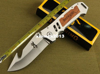 Wholesale Browning tactical knife HRC outdoor survival knives camping hunting pocket folding knife