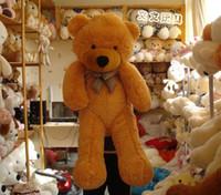 Precio de Gran cosa-Muñeca juguetes Boyds ositos Navidad peluches 100cm 1m 1 metro gigante oso de peluche los amantes gran abrazo oso peluche animales regalo de cumpleaños