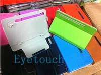 Wholesale Adjustable Mount Colorful Universal Inch Android Tablet PC Case PU Leather Cover Built in Card buckled