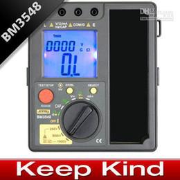 Wholesale Top quality BM3548 Digital Insulation Resistance Tester digital multimeter megger Freeshipping
