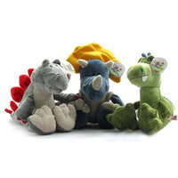 Wholesale Toy for kids NICI plush toys dinosaur series tyrannosaurus stegosaurus Triceratops Three styles doll inch retail