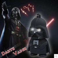 Wholesale Star Wars Galactic BattleGrounds Saga Darth Vader Jedi Outcast LED Luminous keychain Creative Chain Key Pendant