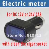 Wholesale Electric Meter with high brightness of LED and clean the cigar socket high quality