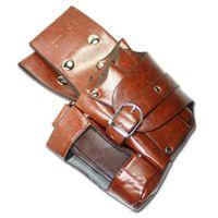 20*25*5.5cm bags for guys - TONI GUY black brown PU waist bag pack for barber hair scissors holder case salon haidressing tool