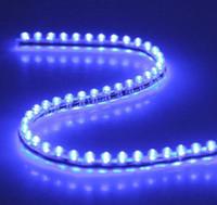Wholesale 10pcs P cm Flexible Waterproof PVC LED Car Light Strip bule