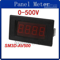 av voltage - Red LED Digital Display AV V Voltage Test Panel Voltmeter