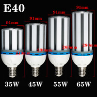 Wholesale Downlights E40 SMD LED Light Bulb Lamp Cool White Warm White Super Brightness Energy Saving Corn Light YM0095