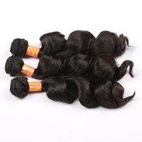 Wholesale 2014 New Hair Prodcuts AAAAA Grade Brazilian Virgin Hair Loose Wave Brazilian Natural Wave Human Hair Extensions DHL