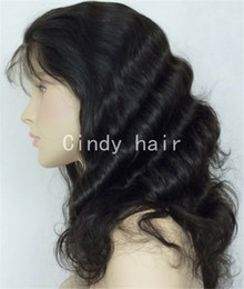 Wholesale Various Colors Wavy Texture Indian Virgin Hair Silk Top Full Lace Wigs Buy Online