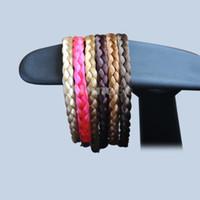 Wholesale 10 New Arrivals Fashion Handmade Artificial Plaited Hair Braided Headband Hair Wear Hair Accessories