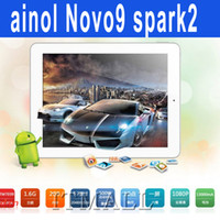 Cheap Ainol Novo 9 Spark II ATM7039 Quad Core 9.7 Inch Retina Screen Ainol Spark 2 Quad Core Tablet PC Android 4.2 2G 16GB DDR3 1.6GHZ Bluetooth